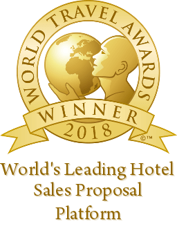 World's Leading hotel sales proposal platform award