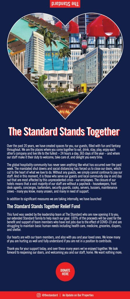 The Standard Stands Together